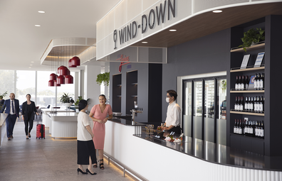 Virgin Australia Adelaide lounge