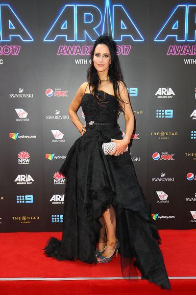 TV Presenter Jane Gazzoat the 2017 ARIA Awards