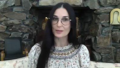 Demi Moore explains why she's got carpet in her bathroom