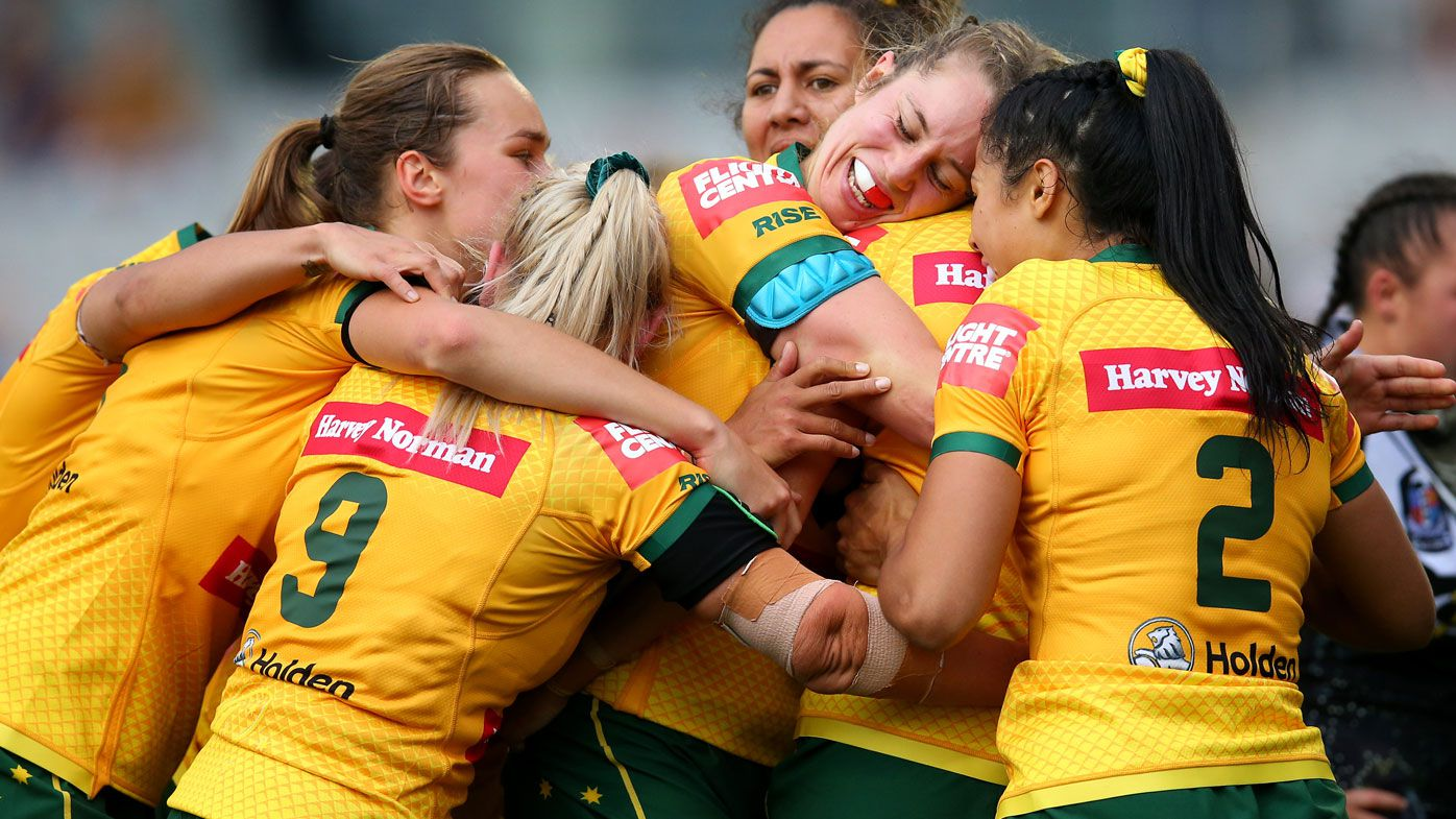 Jillaroos get their redemption over World Cup Nines champions