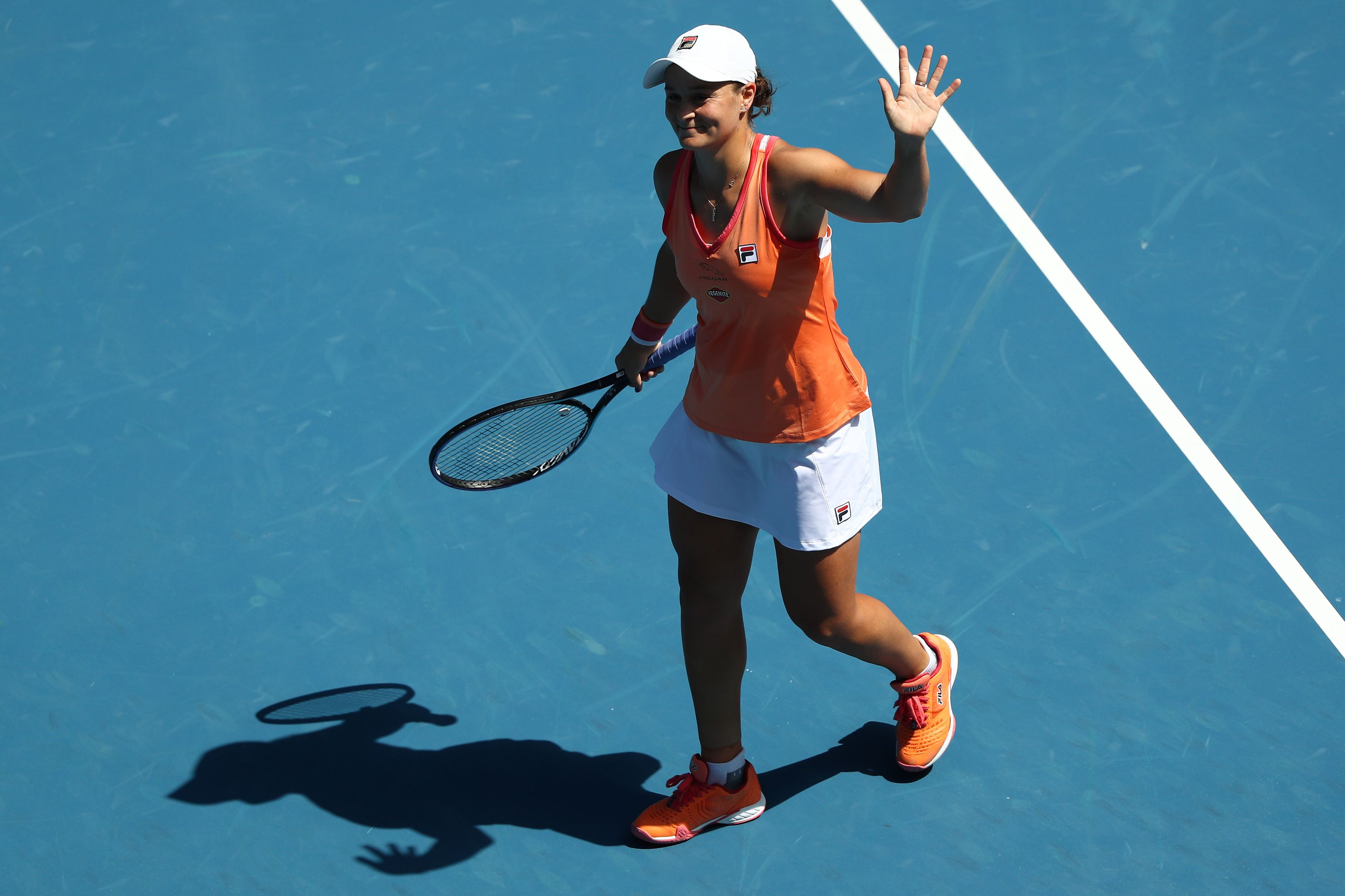Ash Barty through to quarterfinals of the Yarra Valley Classic