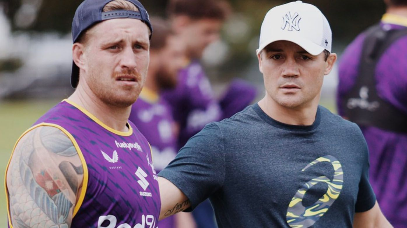 Cooper Cronk gave no information about Roosters in Storm session, Billy Slater says