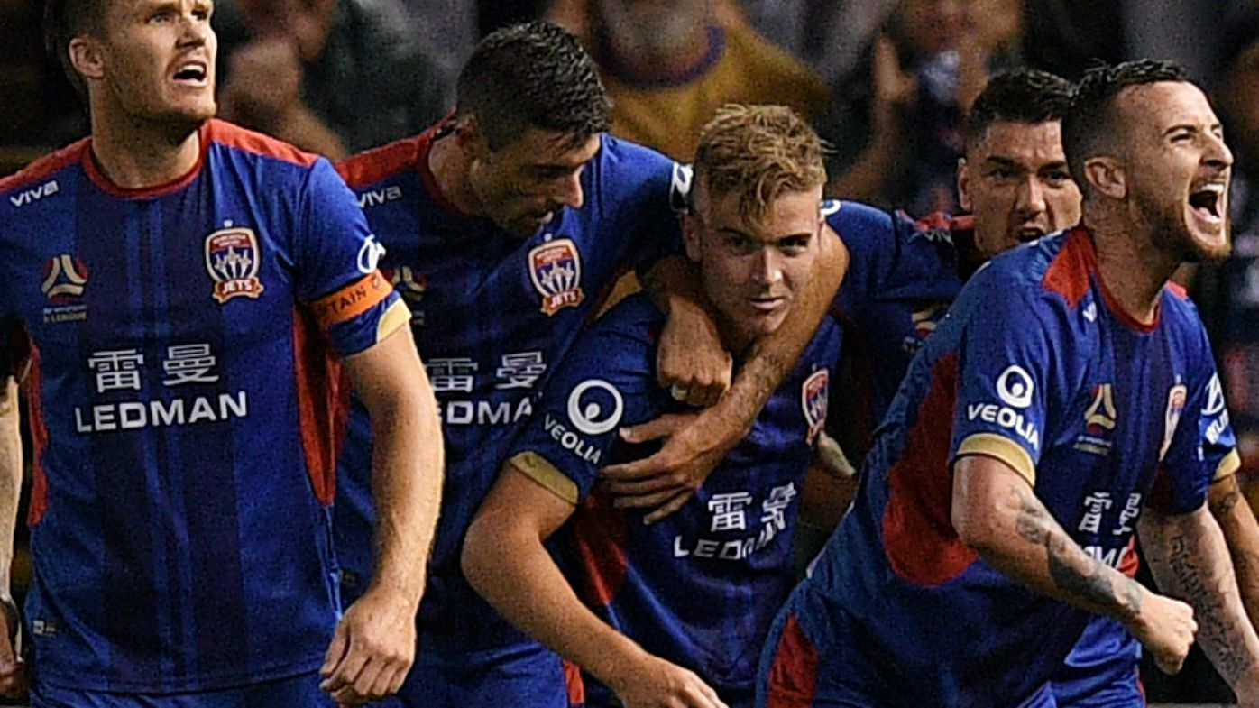 Riley McGree stunner goes viral as Newcastle Jets go through to A-League grand final
