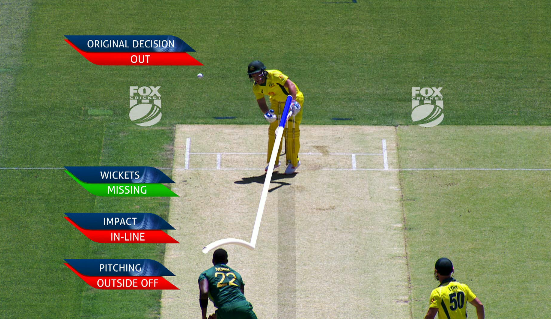 Australia captain Aaron Finch blows DRS appeal that would have saved wicket
