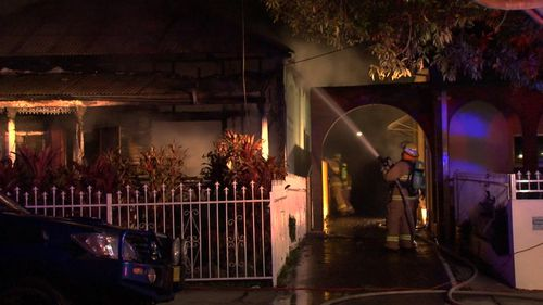 Home destroyed by fire in Sydney's west