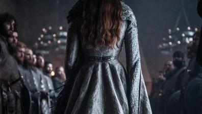 Sansa Stark at her coronation.