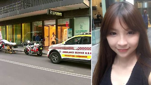 Ms Huang underwent the procedure at The Medi Beauty Clinic in Chippendale. (Facebook/9NEWS)