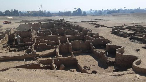 'The Rise of Aten' is the largest ancient city ever discovered in Egypt.