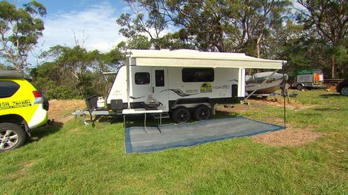 Katherine Waterson's camping hobby has also allowed her to make a living through renting campervans.