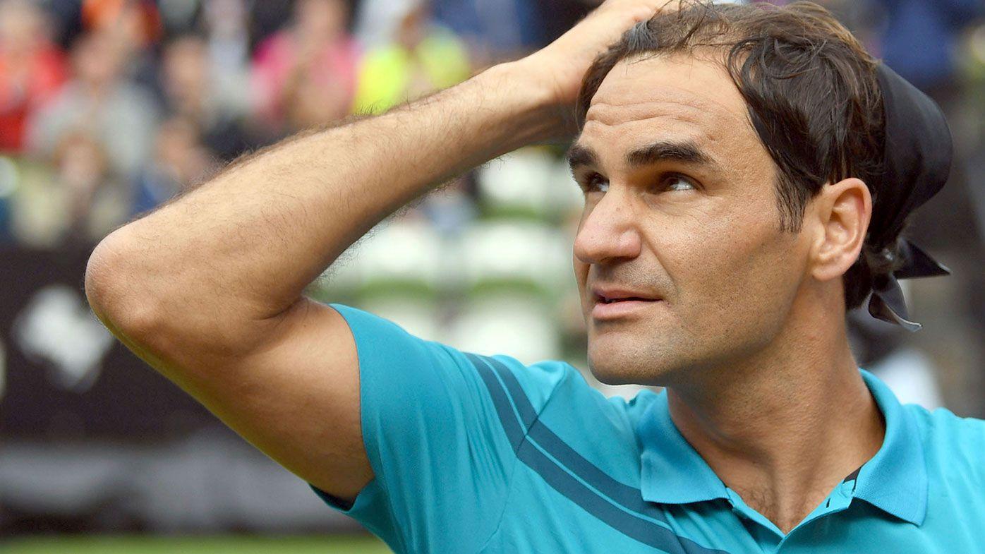 Roger Federer makes winning return at the Stuttgart Open