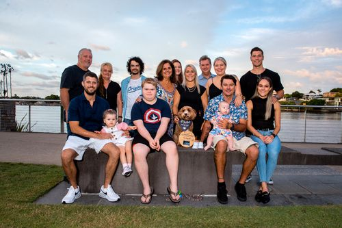 Matildas star Katrina Gorry has grown up surrounded by her loving blended family.