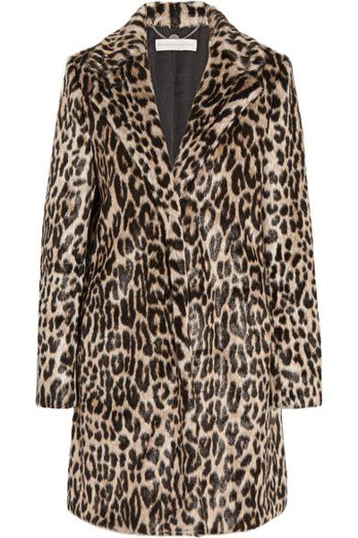 "Stella McCartney faux leopard coat, $2274 at <a href=""https://www.net-a-porter.com/au/en/product/716968/stella_mccartney/leopard-print-faux-fur-coat"" target=""_blank"">Netaporter.com</a>"