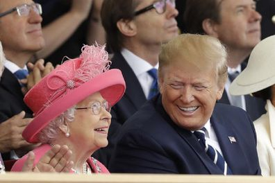 Trump says Queen Elizabeth is a 'brilliant woman'.