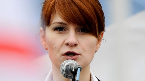A woman accused of being a secret agent for the Russian government has pleaded guilty to a conspiracy charge in federal court in Washington.