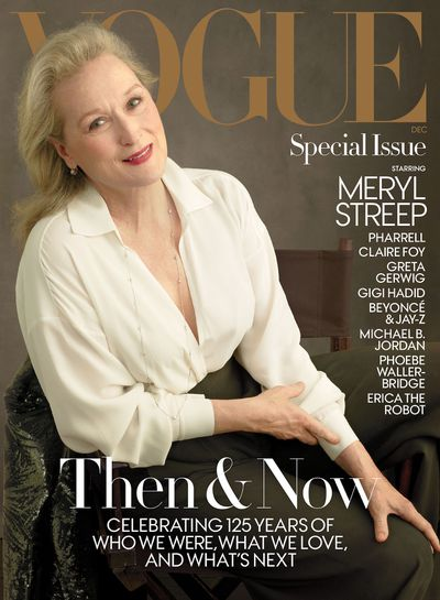 "<p>Meryl Streep has appeared on the cover of US <em><a href=""https://www.vogue.com/article/meryl-streep-anna-wintour-interview-the-post-video"" target=""_blank"" draggable=""false"">Vogue</a> </em>for the second time but it's her interview with Anna Wintour that is trending thanks to her comments on disgraced Hollywood producer Harvey Weinstein.</p> <p>Streep tells Wintour, the woman who inspired her character in <em><a href=""https://style.nine.com.au/2016/06/27/09/40/streep-not-inspired-by-anna-wintour"" target=""_blank"" draggable=""false"">The Devil Wears Prada</a></em>, that she has spoken with her three daughters Mamie Gummer, 34, Grace Gummer, 31, and Louisa Gummer, 26, about Weinstein's behaviour.</p> <p>""Harvey Weinstein, that's all we talk about. It's horrible,"" Streep <a href=""https://www.vogue.com/article/meryl-streep-anna-wintour-interview-the-post-video"" target=""_blank"" draggable=""false"">told Wintour</a>. ""We want them to be free, we want them to be proud, we want them to be female. You put them in danger by not informing them about the male gaze and how it works on young girls.""</p> <p>Weinstein has been accused of sexual misconduct by more than 50 women including Cara Delevingne, Rose McGowan, Gwyneth Paltrow, and Angelina Jolie.</p> <p>The star of <em>The Iron Lady</em> and <em>Out of Africa</em> was photographed by Annie Liebovitz wearing Michael Kors to promote her latest film <em>The Post </em>for the December issue of US <em>Vogue.</em></p> <p>The last time Streep appeared on the cover of fashion's bible was in 2012. </p> <p>Take a look back at some of Streep's most stylish appearances. </p> <p> </p> <p> </p> <p> </p> <p> </p> <p> </p>"