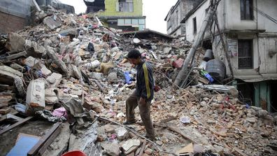 IN PICTURES: Nepal devastated by 7.9-magnitude earthquake (Gallery)