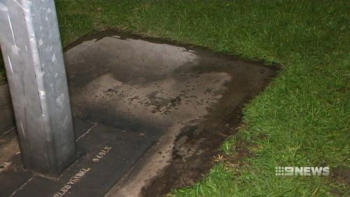 Investigators believe the man doused the device in petrol and set it alight on Tapleys Hill Road at West Beach.