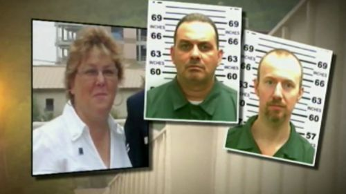 Female prison guard arrested for allegedly aiding convicted killers' escape
