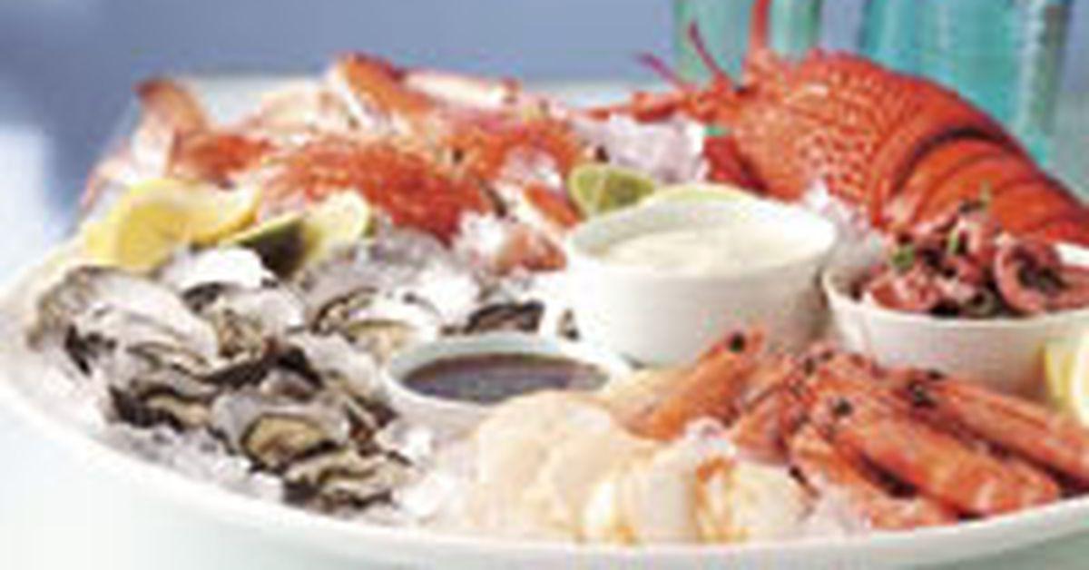 Cold Seafood Platter 9kitchen