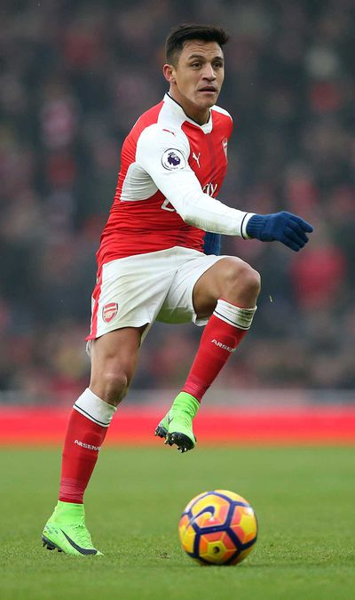 <strong>Alexis Sanchez - Arsenal</strong>