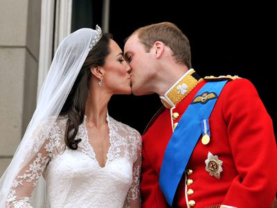 Prince William and Kate Middleton's wedding, April 2011