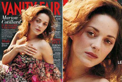 The Oscar winner posed makeup-free for <i>Vanity Fair Italia</i>, September 2010.