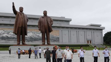 North Korea's regime is built on the notion that the ruling Kim dynasty are close to deities.