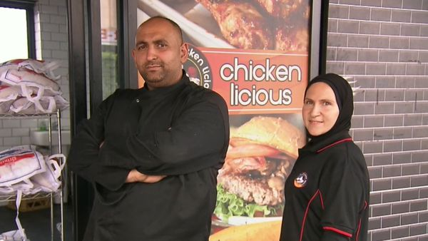 Coronavirus: Sydney chicken shop feeding locals for free