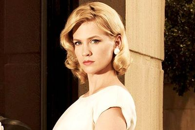 <B>Nominated for...</B> Outstanding lead actress in a drama series for <I>Mad Men</I>, in 2010.<br/><br/><B>Why it's bad:</B> Of all the powerful <I>Mad Men</I> actors worthy of an Emmy nomination, January Jones is probably the last that comes to mind. Her co-stars Christina Hendricks and Elisabeth Moss play far more memorable characters, and it's by pure luck that Jones's stilted, charisma-free acting perfectly suits her stilted, charisma-free character.