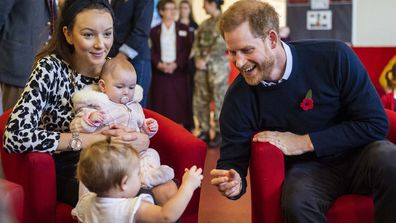 The Duke and Duchess of Sussex surprised their neighbours in Windsor at a coffee morning for military families 5