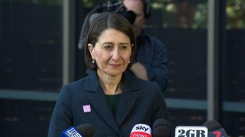NSW premier Gladys Berejiklian coronavirus update