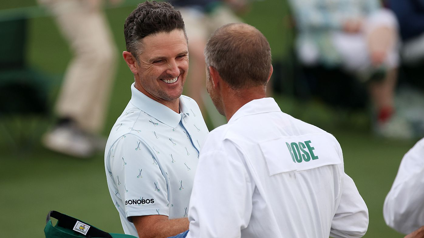 'Off the charts': Justin Rose takes huge first round lead at The Masters after freakish 11-hole stretch