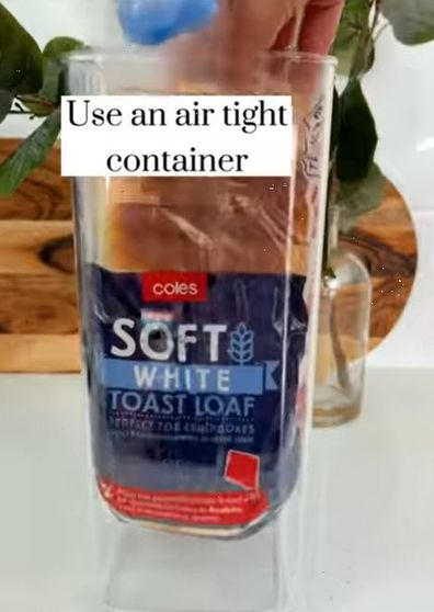 Bread container hack