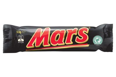 About 2/3 of a Mars Bar is 100 calories