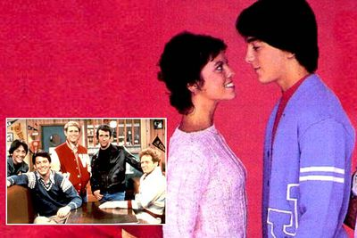 <B>Spun-off from:</B> <I>Happy Days</I> (1974 to 1984).<br/><br/><B>Hit or Miss?</B> Miss. Joanie (Erin Moran) may have loved Chachi (Scott Baio), but audiences did not love this sitcom about the young couple's attempts to start a band &#151; perhaps because The Fonz was nowhere to be seen. It wasn't long before the series was axed, and the characters absorbed back into the original series.<br/><br/><B>Factoid:</B> <I>Happy Days</I> &#151; itself a sort-of-spin-off of the '70s series <I>Love, American Style</I> &#151; spawned several spin-offs, including <I>Laverne & Shirley</I>, <I>Mork & Mindy</I> and the animated <I>The Fonz and the Happy Days Gang</I>.
