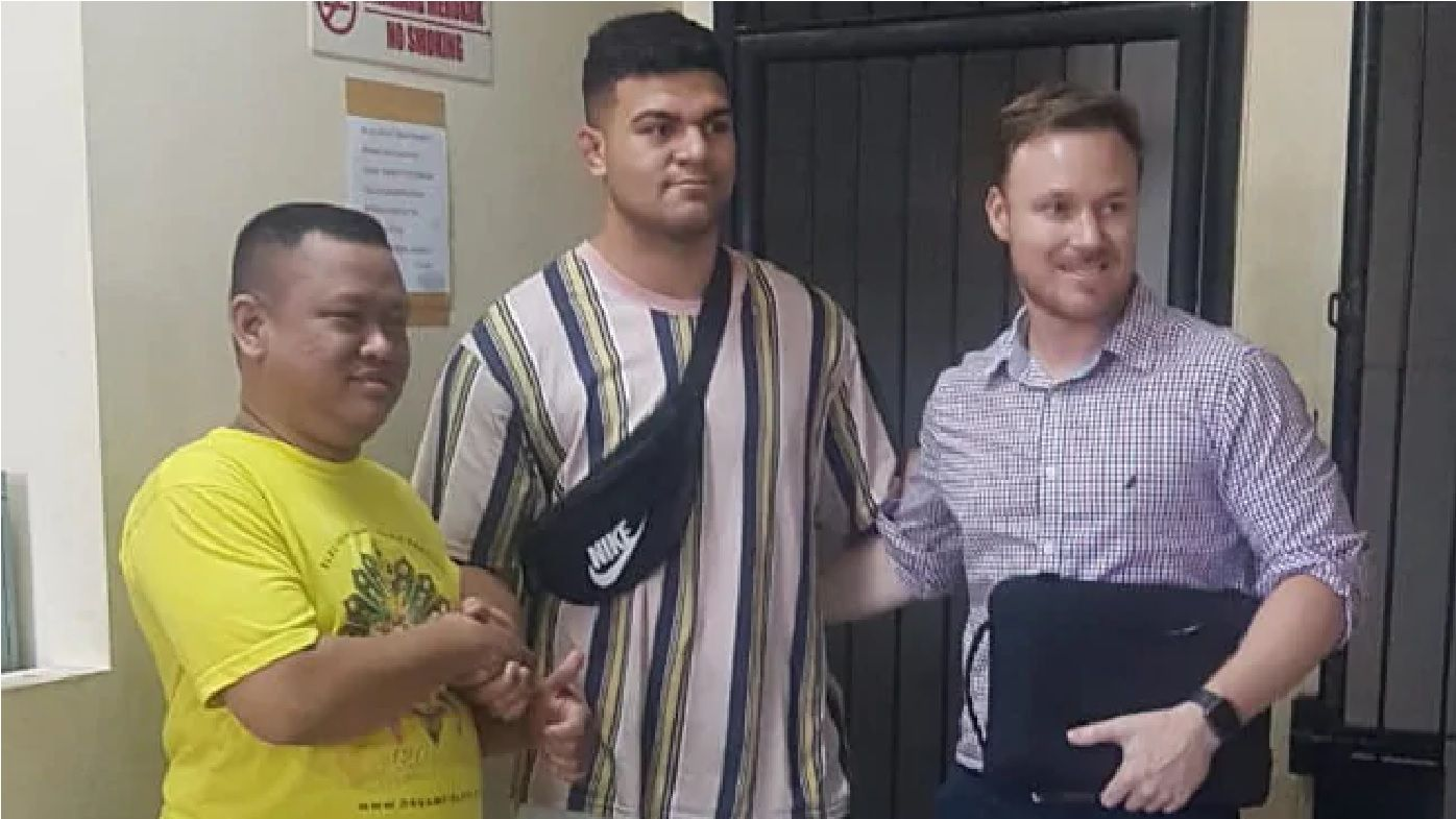 Brisbane Broncos superstar David Fifita returns home after Bali jail stint