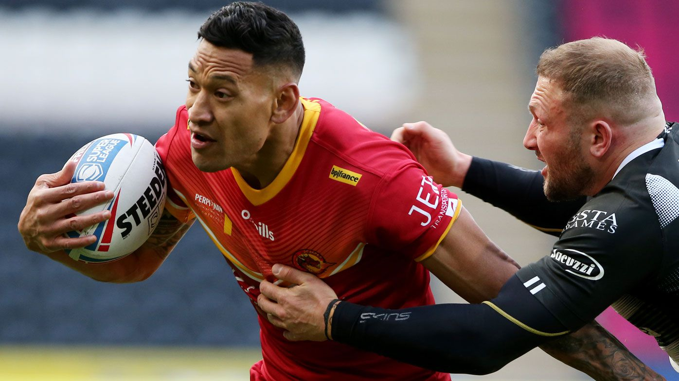 NRL snubs Israel Folau meeting request as clubs privately close door on superstar
