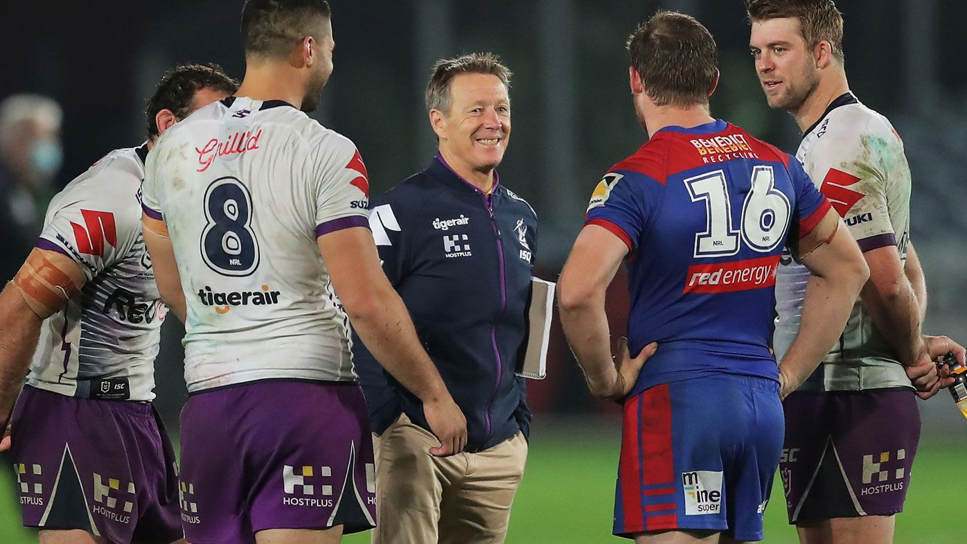 Storm coach Craig Bellamy eyes clarity from refs on six-again after lopsided count