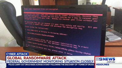 Cadbury factory in Tasmania attacked by global ransomware virus