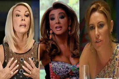 For weeks we've watched The Real Housewives of Melbourne launch scathing attacks on one another... creating somewhat of a real-life Toorak Mean Girls. <br/><br/>And after the couch-cattiness that took place on the reunion show, we've decided to take a look at the cattiest insults to date. From Andrea's distaste for Gina's use of the 'C-word' to Janet's bizarre death threat to her fellow housewife, check out the nastiest RHOM spats here...