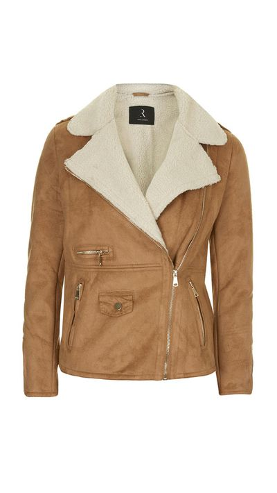 <p>The shearling jacket</p>