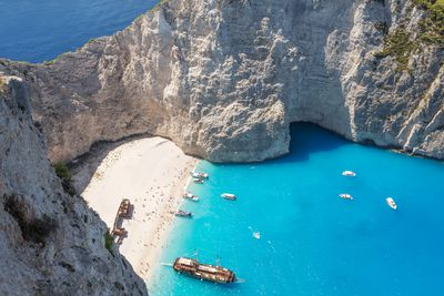 <strong>5.&nbsp;Navagio Beach, Greece</strong>