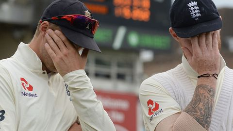 Joe Root (left) and Ben Stokes.