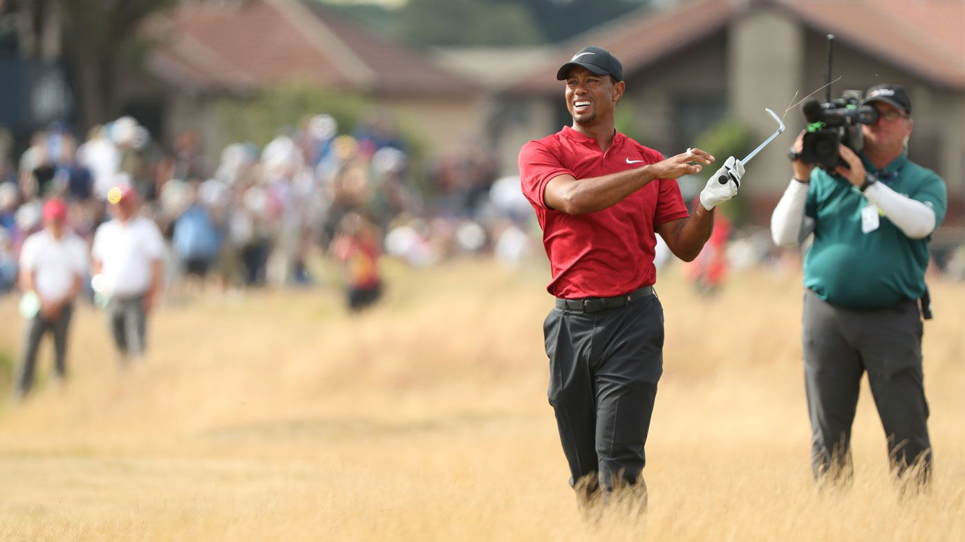 'It stings', admits Tiger as British Open charge fades away