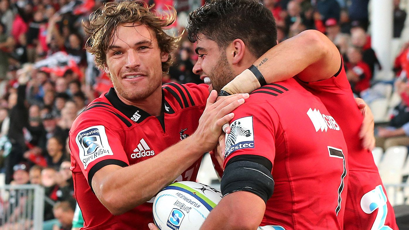 Super Rugby: Christchurch Crusaders smash Stormers