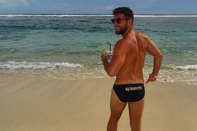 "@travisjake_: ""Bring back the budgey smugglers! @speedo #bali #endorsment #ambassador @aisha_jade you rate?"""