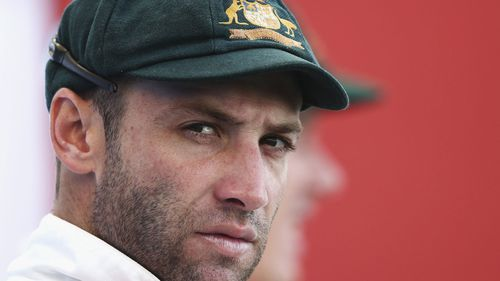 Cricketer Phillip Hughes' final score was 63 not out.