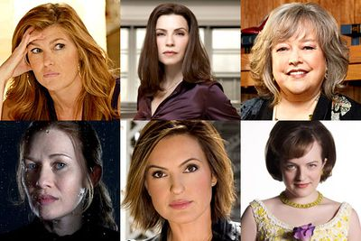 Kathy Bates, <i>Harry's Law</i><br/><br/>Connie Britton, <i>Friday Night Lights</i><br/><br/>Mireille Enos, <i>The Killing</i><br/><br/>Mariska Hargitay, <i>Law & Order: SVU</i><br/><br/>Julianna Margulies, <i>The Good Wife</i><br/><br/>Elisabeth Moss, <i>Mad Men</i>