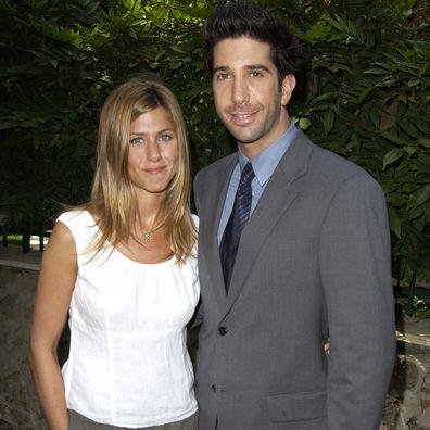 Jennifer Aniston & David Schwimmer (Photo by SGranitz/WireImage)