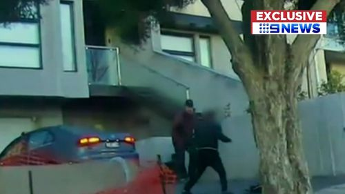 Keilor's attack was captured on video.